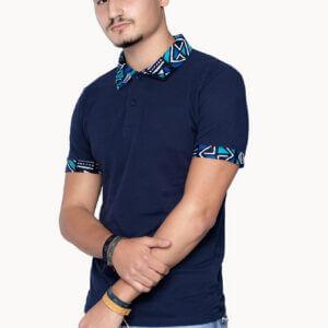 Polo Bleu-nuit Unisexe