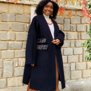 Manteau en cachemire oversize